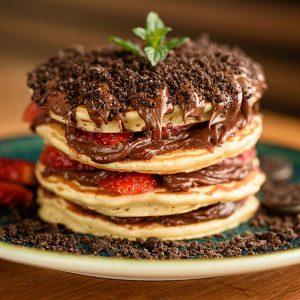 Pantastic Pancakes - American pancakes with chocolate
